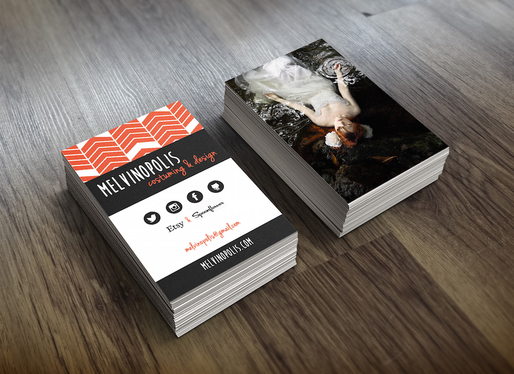 Melvinopolis business cards